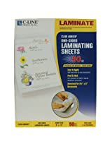 C-Line Heavyweight Cleer Adheer Laminating Film Sheets, Non-Glare, 9 x 12 Inches, 50 per Box (65004)