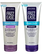 John Frieda Frizz Ease Dream Curls, DUO Set Shampoo + Conditioner, 10 Ounce, 1 Each
