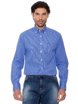 Pedro Del Hierro Camisa Cuadros (Azul)