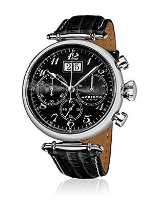Akribos XXIV Reloj con movimiento cuarzo japonés Man AK628BK 45 mm