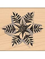 "Penny Black Mounted Rubber Stamp 2.25""X2.25"" Snow Flake"