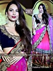 F BAZAAR BOLLYWOOD REPLICA LEHENGA SAREE Malaika Rainbow
