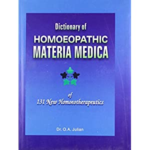 Dictionary of Homoeopathic Materia Medica: 1