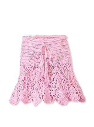 H. Maude Girl's Picnic Posse Skirt (Light Pink)