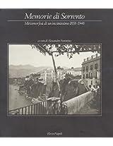 Memorie DI Sorrento: Metamorfosi DI UN Incantesimo 1958-1948
