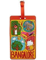 Chumbak Multi-Color Luggage Tag (CLT013)