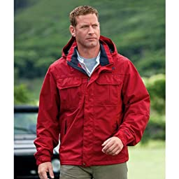 WeatherEdge Friday Harbor Jacket: Redwood