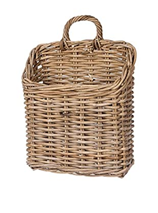 Skalny Rattan Wall Basket, Natural