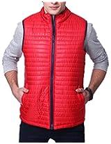 Yepme Men's Red Polyester Jacket-YPMJACKT0093_XXL