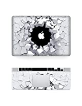 iCasso Protective Full-cover Vinyl Art Skin Decal Sticker Cover for Apple MacBook Pro Retina 13.3 inch Model: A1425/A1502 - 3D Wall