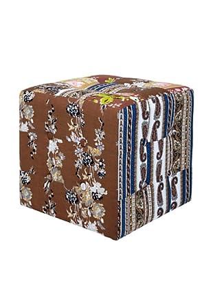 Kare Design Puff Patchwork Beige 40 X 40 Cm