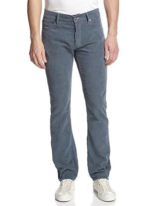 Jean Machine Men's J.M-2 Corduroy Straight Leg Jeans (Petrol)