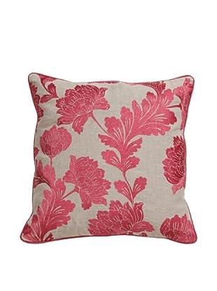 Villa Home Bouquet Pillow, Pink