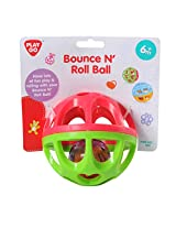 PlayGo Bounce N' Roll Ball On A Header Card Styles May Vary Baby Toy