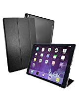 Tuff-Luv Smart Cover & Stand With Tablet Armour Shell for iPad Pro - Black (Sleep Function)