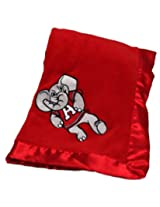 Pickles Embroidered Fleece Baby Blanket with Satin Trim - University of Alabama