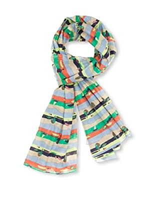 Springfield Foulard Flores Rayas (Multicolor)