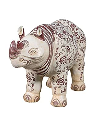Rhinoceros Temple Figure