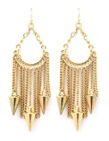 Madclozet Arrow Head Dangler Earrings For Women