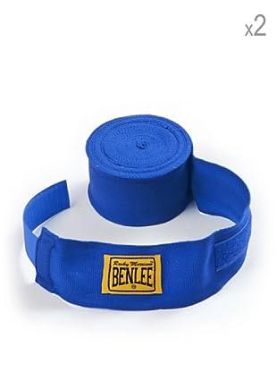 Benlee Pack 2 Vendas Para Manos Elastic 300 cm (Azul)