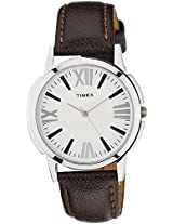 Timex  Dial Analogue Watch for Men (TI0002B10100)
