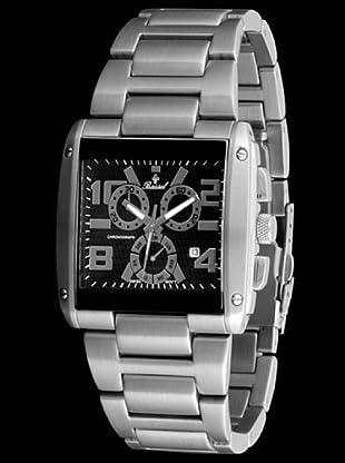 Bassel Reloj CR4028N de Acero acero / negro / azul