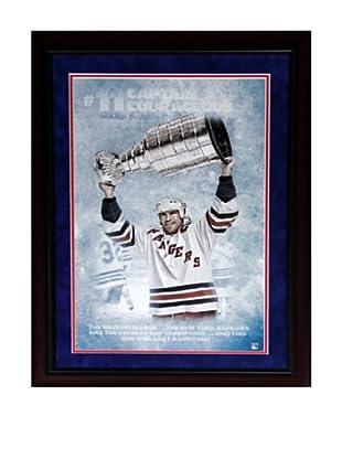 Steiner Sports Memorabilia Mark Messier 'Captain Courageous' Framed Photo Collage