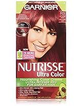 Garnier Nutrisse Hair Color, R3 Light Intense Auburn Nourishing Color Creme Permanent