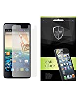 Clear Shield Anti Glare Screen Protector For Micromax Canvas Knight A350 (Front & Back)