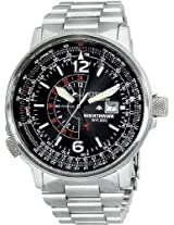 Citizen Eco-Drive Nighthawk Mens Watch Bj7000-52E