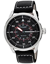 Citizen Eco-Drive Analog Black Dial Men's Watch - AW1360-04E
