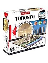 4d Cityscape Tcys 11 4 D Toronto, Canada Cityscape Time Puzzle