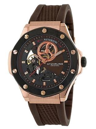 STÜRLING ORIGINAL 160A.3346K59 - Reloj de Caballero movimiento automático con correa de silicona