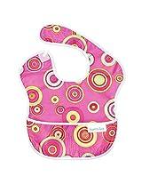 Bumkins Waterproof SuperBib, Pink Fizz (6-24 Months)