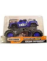 Matchbox on a Mission Crime Defender 1:24 SWAT Truck