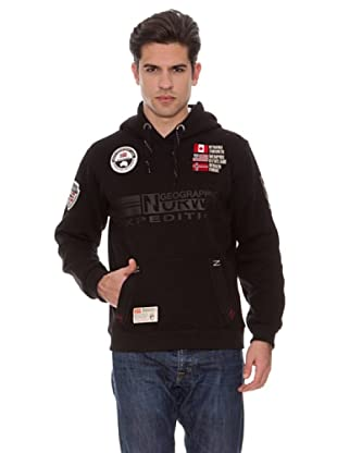Geographical Norway Sudadera Forest (Negro)
