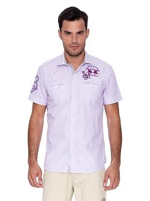 La Martina Camisa Miguel (Morado)