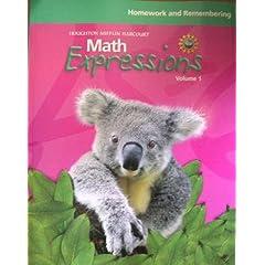 【クリックで詳細表示】Math Expressions, Grade 1 Homework and Rembering Consumable: Houghton Mifflin Math Expressions (Math Expressions 2009 - 2012) [ペーパーバック]