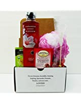 Unlocking Greatness You Are Loved Bath & Body Works Gift Baskets: (Japanese Cherry Blossom)