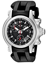 Oakley Men's 10-215 Holeshot Unobtainium Strap Edition Chronograph Rubber Watch