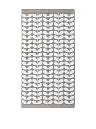 Orla Kiely Stem Jacquard Bath Sheet, Grey