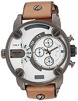 Diesel Stopwatch Chronograph White Dial Men's Watch - DZ7269I