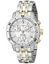 Tissot Analog White Dial Men's Watch - T0674172203100