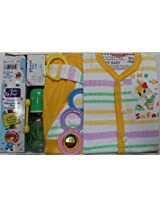 Love Baby Gift Set - Jacknjill Peach