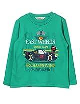 Beebay Boys Fast Wheel Car Print T-Shirt (B0815204703715_Green_9Y)