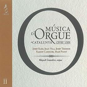 Msica D'orgue a Catalunya, Vol. II
