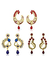 Stylish Wear Designer Earrings for Women Combo-2286
