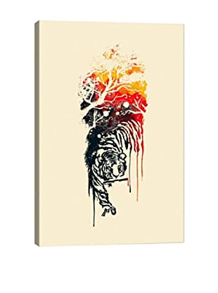 Painted Tyger by Budi Satria Kwan Giclée Canvas Print