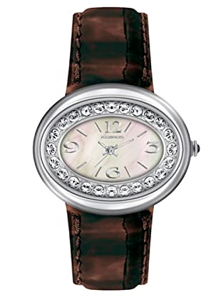 K&BROS 9158-1 / Reloj de Señora  con correa de piel marrón