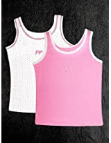 Gini & Jony Girls Vests(Pack Of 2)
